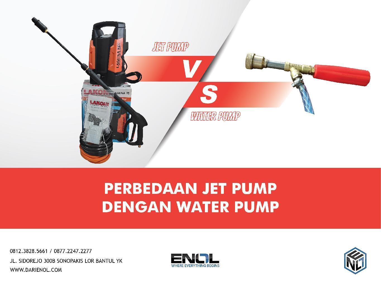Perbedaan Jet Pump Dengan Water Pump